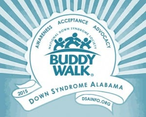 The Buddy Walk 2015 Logo