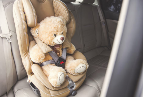 Recycle your old child car seats