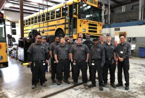 Hoover transportation team sweeps state inspection