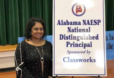 Hoover principal wins national award
